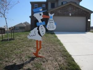Ijamsville, MD Stork Sign Rental~