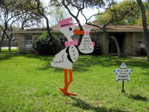 Stork Sign Delivery<br/>Damascus, Maryland<br/>Flying Storks<br/>(301) 606-3091
