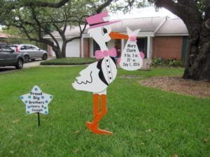 %Md Flying Stork Signs Maryland Stork Lawn Signs%