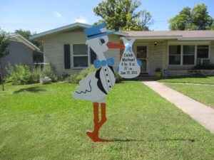 Md Lawn Stork Signs<br/> Brunswick, Md<br/> Flying Storks<br/> (301) 606-3091