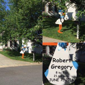 Maryland Stork Sign Yard CardsFlying Storks Germantown, Md. (301)606-3091