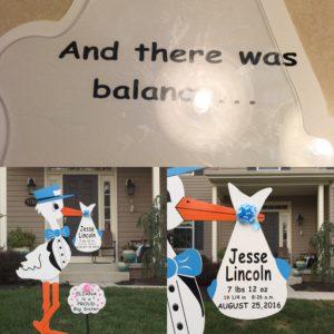 Stork Signs Maryland, Md Lawn Stork Rentals,Flying Storks, (301) 606-3091