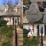 Stork Yard Sign in Maryland Flying Storks (301) 606-3091
