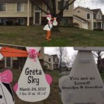 Baby Stork Sign in Maryland