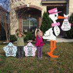 Flying Storks Yard Signs Md Maryland Stork Rentals (301) 606-3091