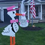 MD Baby Yard Stork Sign Flying Storks (301) 606-3091 Jefferson, MD