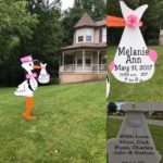 Flying Storks Delivers Stork Sign Rentals Maryland Washington D.C. Metro Area in Maryland Flying Storks (301) 606-3091