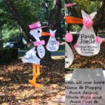North Bethesda Maryland Stork Sign Flying Storks (301) 606-3091