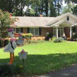 Clarksburg, MD Stork Sign Rental Flying Storks (301) 606-3091