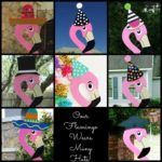Our Birds Wear Many Hats Flying Storks Yard Cards Maryland Stork Signs (301) 606-3091
