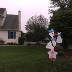 Mt Airy Md Stork Sign Rental Flying Storks (301) 606-3091