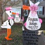 Ashburn, VA Lawn Stork Sign Rental<br/> Flyingstorks.com/ (301) 606-3091