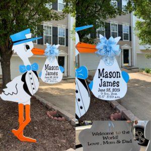 Leesburg, VA Stork Sign Rentals