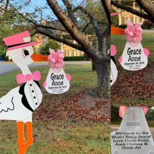 Maryland & Northern Virginia Stork Sign Rentals