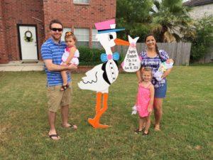 %Flying Storks Md Stork Lawn Sign Yard Cards Jefferson, Maryland (301) 606-3091%