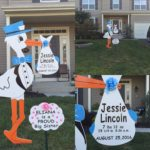 Maryland Stork Rentals Personalized Stork Lawn Sign Rentals in Maryland Flying Storks (301) 606-3091
