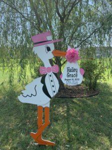 Urbana Stork Sign Rentals