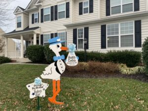 Leesburg Virginia Yard Stork Sign Rentals